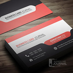 Top 20 business card designs market inspector stylish modern tab design by business card journal reheart Images