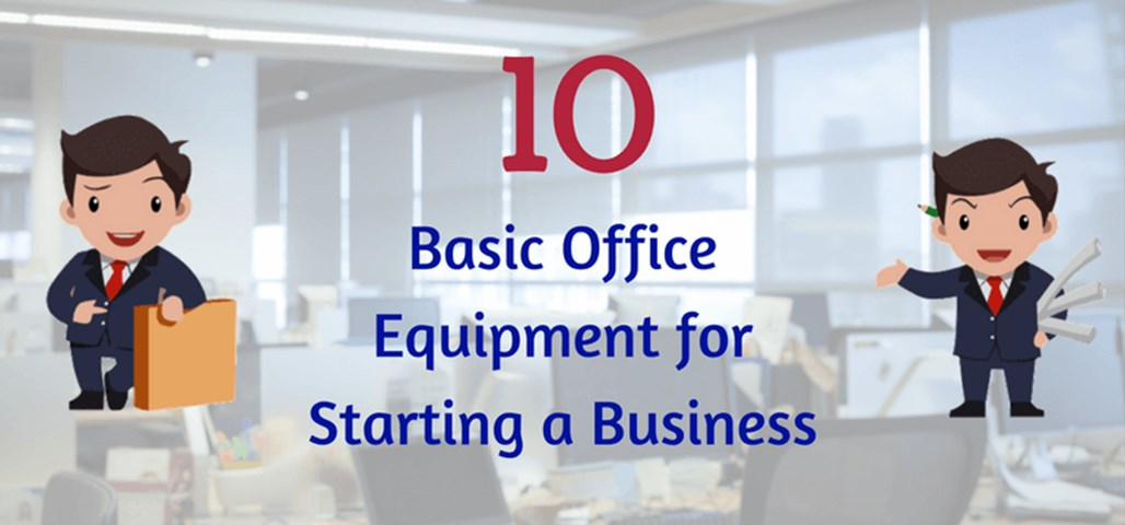 list of office equipments