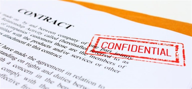 Confidential Printed Contract _776x 363