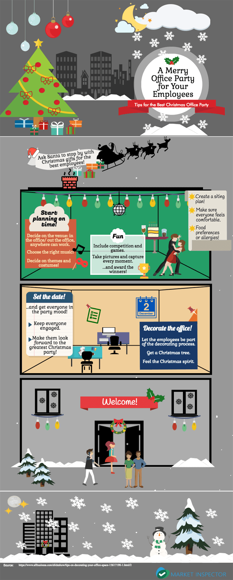 4d5c2cc568b33 Tips for Office Christmas Party | Market-Inspector