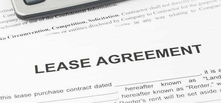 Lease -agreement