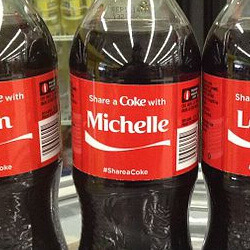 Share A Coke With Coca Cola Promotion