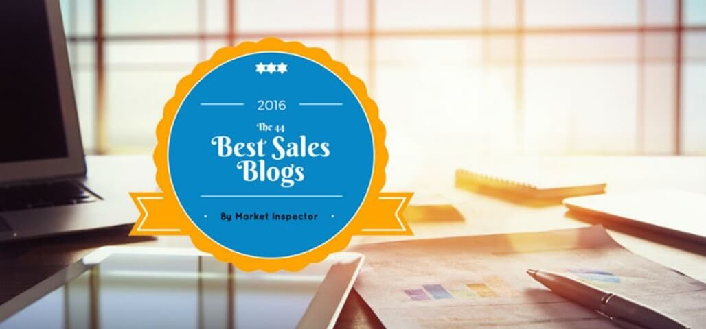 The Best Sales Blogs in 2016 by Market Inspector