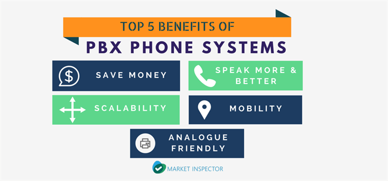 Top 5 benefits of pbx systems