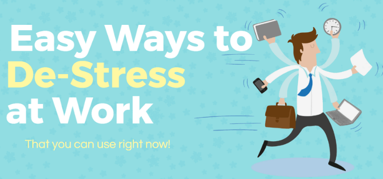 9 Easy Ways To De Stress At Work Market Inspector