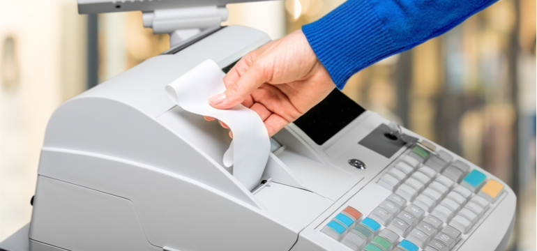 Cash Registering Machine