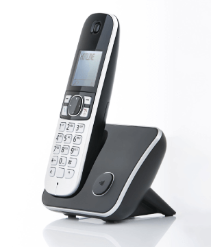 Grey Cordless Phone