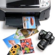 Inkjet Printer For Printing Photographs With Wireless Printing