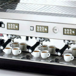 3 Heads Espresso Coffee Machines